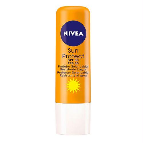 Protetor Labial NÍVEA Sun FPS 30 Tubo 4.8g