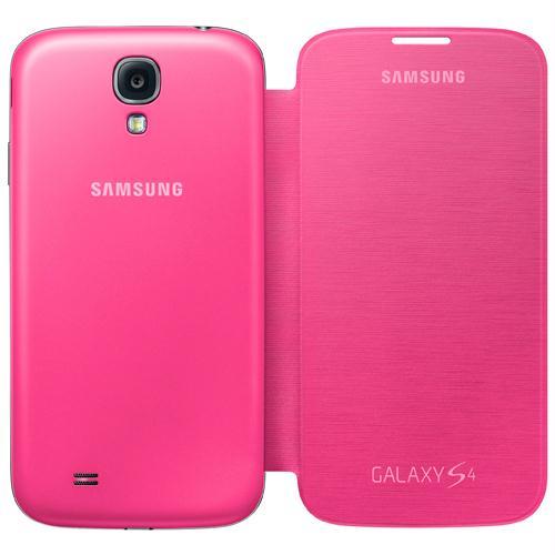 Capa protetora SAMSUNG Flip cover Galaxy S4 rosa Ref.: 17043