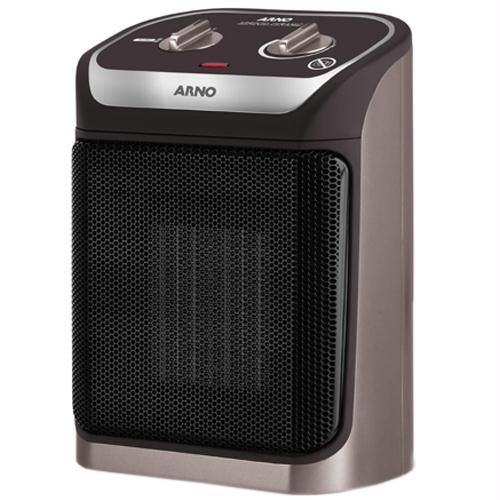 Aquecedor de Ar ARNO Sprinto Ceramic Grafite e Preto 1800W  Ref.: AQU4