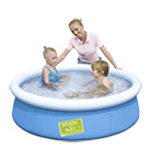 Piscina BESTWAY Fast set color 477l Ref.:57241