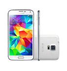 Smartphone SAMSUNG Galaxy S5 Duos 4G Branco Android 4.4 Memória Interna 16GB Câmera 16MP Quad Core 2.5GHz 5.1