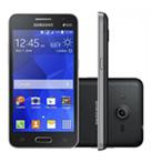 Smartphone SAMSUNG Galaxy Core 2 Duos Preto Android 4.4 Memória Interna 4GB Câmera 5MP Quad Core 1.2GHz 4.5