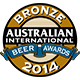 Prêmio: Australian International Beer Awards 2014