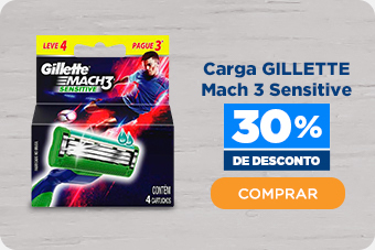 Carga GILLETTE Mach 3 Sensitive