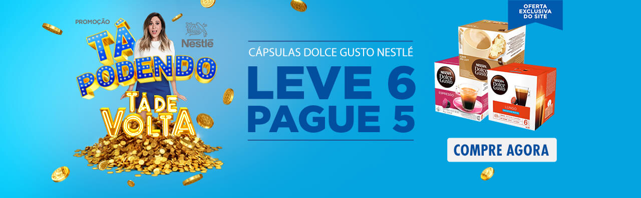 Dolce Gusto - Leve 6 Pague 5