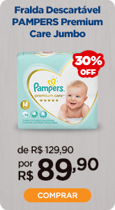 Fralda Pampers Premium Care Jumbo